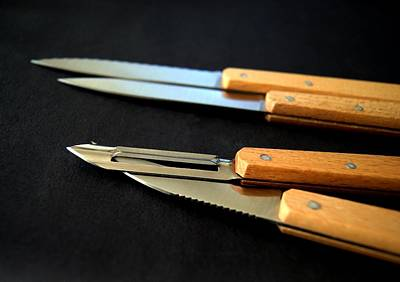 Photograph - Knife Set  by Blanchi Costela