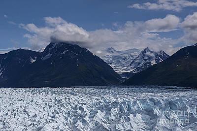 Knik Glacier Alaska Art Print
