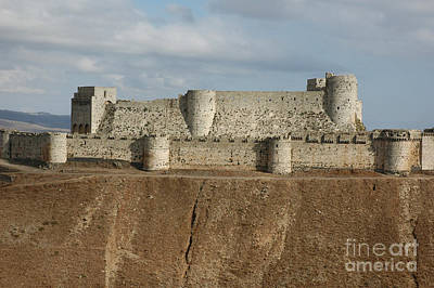 Krak Des Chevaliers, Syria Art Print by Catherine Ursillo