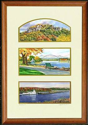 Painting - La Crosse Collection by Phyllis Martino