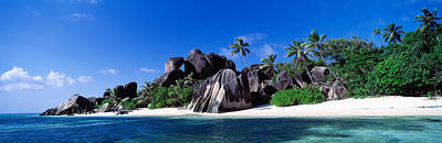 Grey Clouds Photograph - La Digue Island Seychelles by Panoramic Images