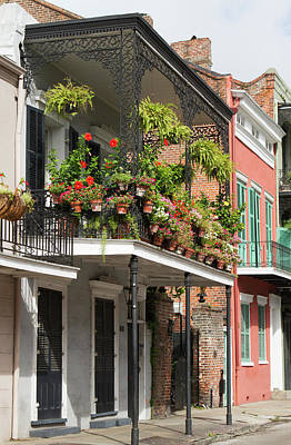 Judy Photograph - La, New Orleans, French Quarter by Jamie and Judy Wild