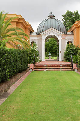 The Two Sisters Photograph - La, New Orleans, New Orleans Botanical by Jamie and Judy Wild