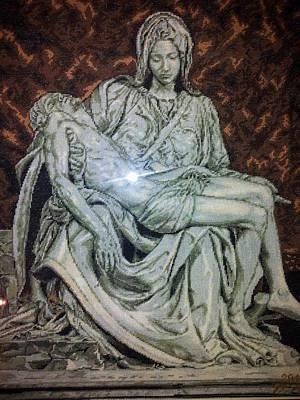 La Pieta - Michelangelo Original
