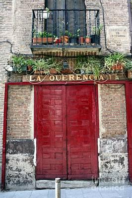 Brick Sidewalk Photograph - La Querencia by Sophie Vigneault
