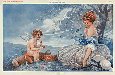 La Vie Parisienne 1916 1910s France Art Print by The Advertising Archives