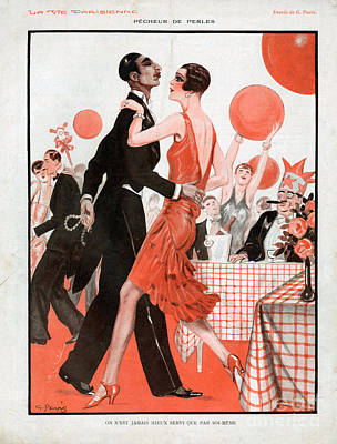 Drawing - La Vie Parisienne 1929 1920s France Cc by The Advertising Archives