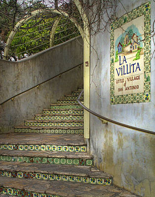 Riverwalk Photograph - La Villita  by David and Carol Kelly