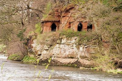 Lacy's Caves On The River Eden Art Print by Ashley Cooper