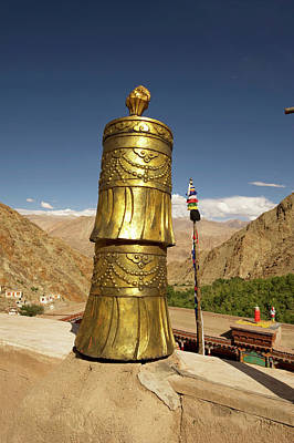 Ladakh, India Religious Structures Art Print