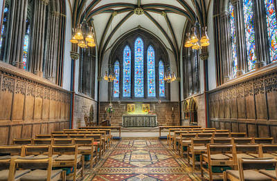 Red Roses - Lady Chapel by Ian Mitchell