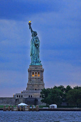 Photograph - Lady Liberty 5 by Allen Beatty