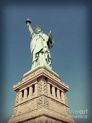 Photograph - Lady Liberty by Meghan at FireBonnet Art
