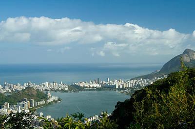 Photograph - Lagoa Rodrigo De Freitas In Rio De Janeiro by Celso Diniz