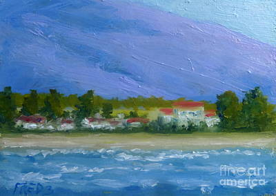 Painting - Lahaina Shore by Fred Wilson