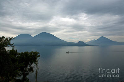Photograph - Lake Atitlan, Guatemala by Mark Newman