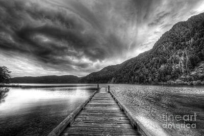 Olympic National Park Photograph - Lake Crescent In Olympic National Park by Twenty Two North Photography