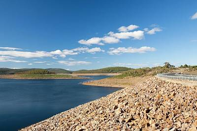 Lake Eucumbene In Drought Art Print