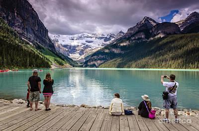 Louise Photograph - Lake Louise by Viktor Birkus