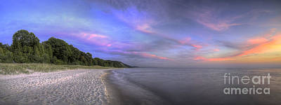 Northport Photograph - Lake Michigan Sunset by Twenty Two North Photography