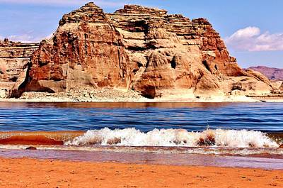 Photograph - Lake Powell by Benjamin Yeager