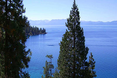 Lake Tahoe 4 Art Print by J D Owen