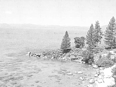 Photograph - Lake Tahoe Secret Cove by Frank Wilson