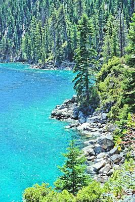 Photograph - Lake Tahoe Shoreline by Jane Girardot