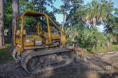 Photograph - Land Clearing by Dale Powell