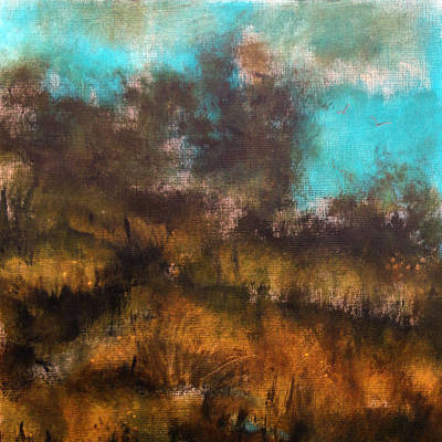 Strong America Painting - Landscape by Katie Black