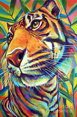 Painting - Le Tigre by Robert Phelps