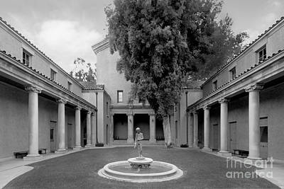 Claremont Photograph - Lebus Court Pomona College by University Icons