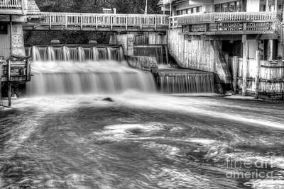 Leland River Art Print by Twenty Two North Photography