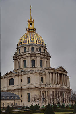 Ornate Photograph - Les Invalides - Paris France - 01132 by DC Photographer