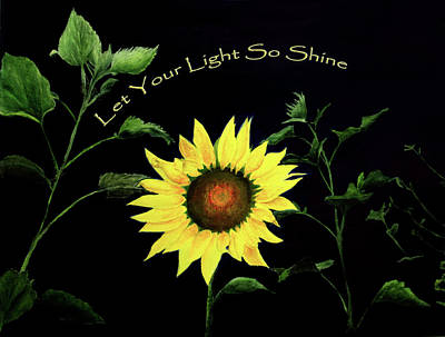 Let Your Light So Shine Art Print