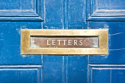 Letterbox Photograph - Letterbox by Tom Gowanlock