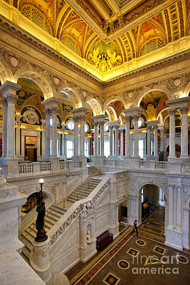 Photograph - Library Of Congress by Brian Jannsen