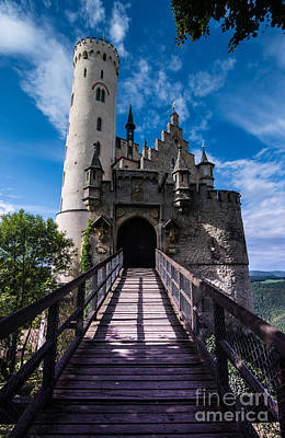 Lichtenstein Castle - Baden-wurttemberg - Germany Art Print by Gary Whitton