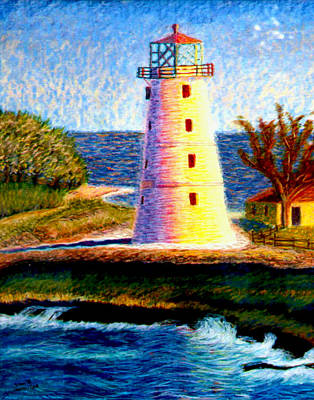 Painting - Light House by Stan Hamilton