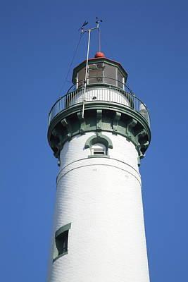 Photograph - Lighthouse - Presque Isle Michigan 3 by Frank Romeo