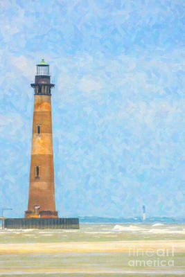 Digital Art - Lighthouse Art by Dale Powell