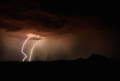 Lightning Bolt Photograph - Lightning Storm  by Saija  Lehtonen