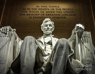 Photograph - Lincoln by Michael Arend