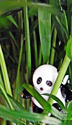 Photograph - Little Glass Pandas 59 by Sarah Loft