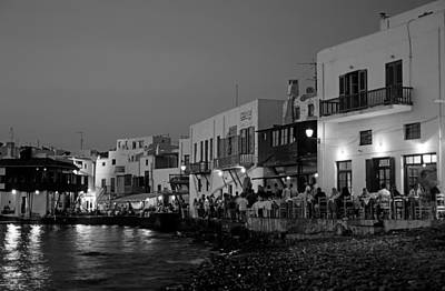 Bar Photograph - Little Venice During Dusk Time by George Atsametakis