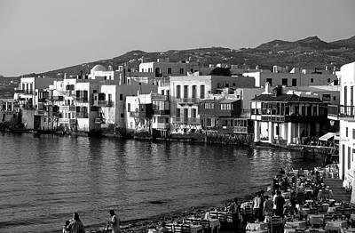 Sundown Photograph - Little Venice by George Atsametakis