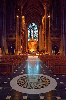 Liverpool Cathedral, Liverpool Art Print by Panoramic Images
