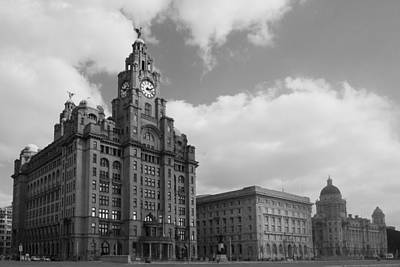Photograph - Liverpool Pier Head by Phillip Orr