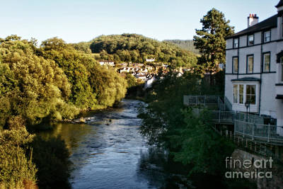 Photograph - Llangollen In Wales by Doc Braham