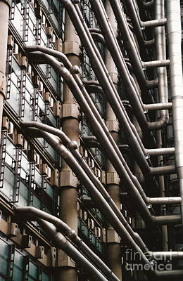 Lloyd's Of London 3 Art Print by Dennis Knasel